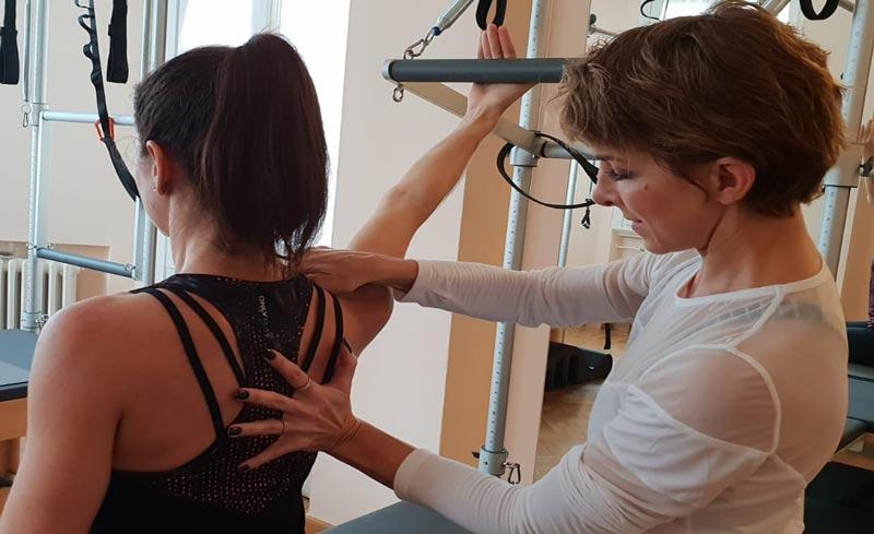 Art of tactile cueing | Basi Pilates
